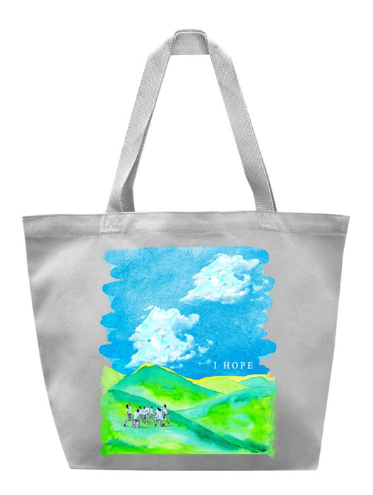 I HOPE Tote Tote AKP Grey