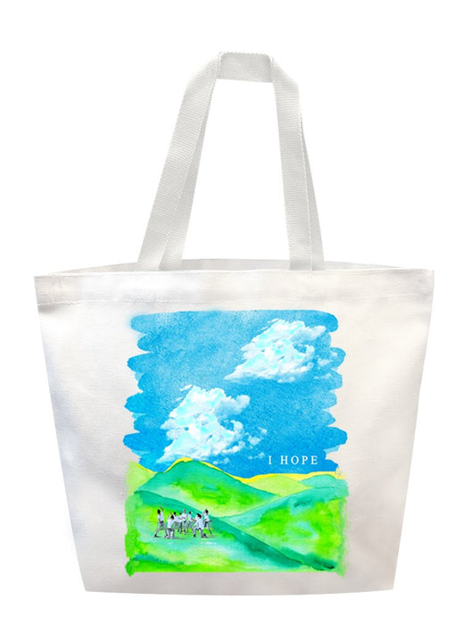 I HOPE Tote Tote AKP White