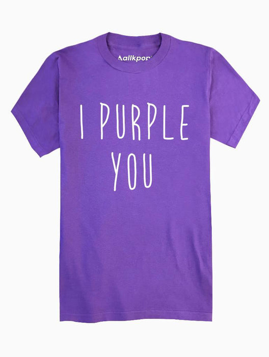 I Purple You Tee Tees AKP