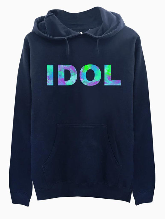 IDOL Hoodie Hoodies AKP Unisex Navy Small