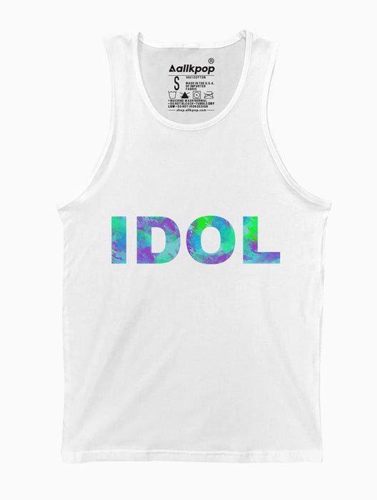 IDOL Tank Tanks AKP Unisex White Small