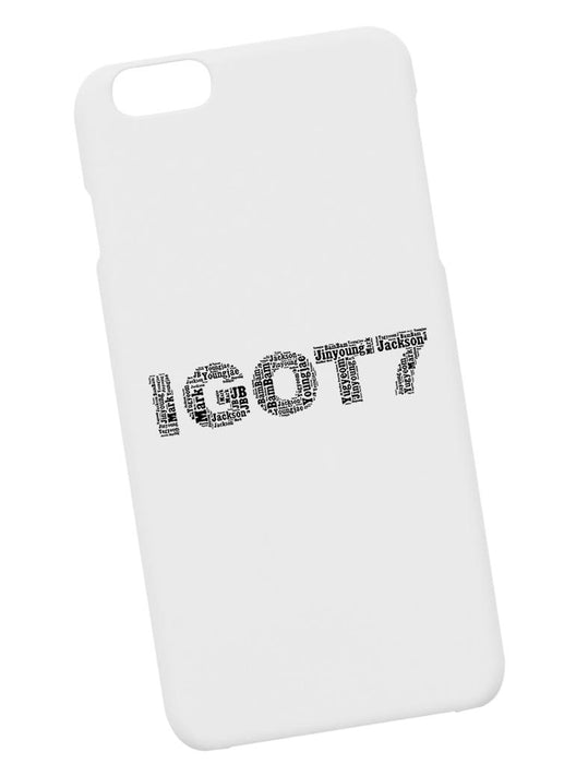 iGOT7 Name Case Phone Case AKP White