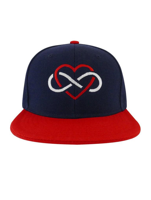 Infinite Love Snapback Snapbacks AKP Navy-Red