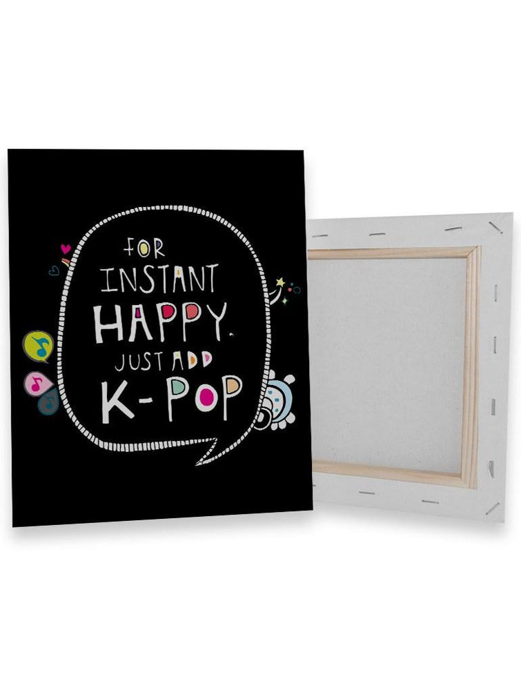 Instant Happy Canvas Canvas AKP 8x8""