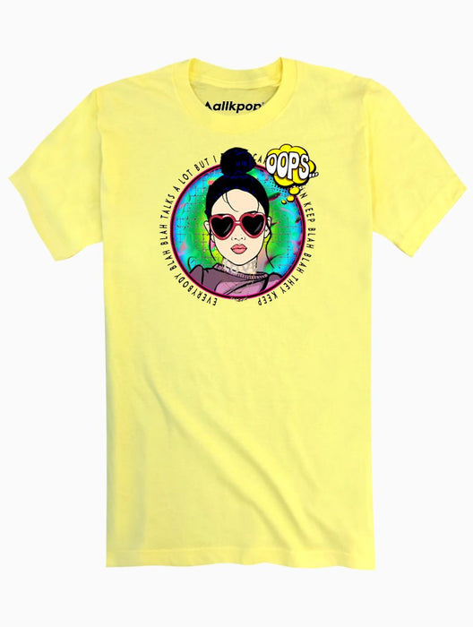ITZ ICY Tee Tees AKP Male Yellow Small
