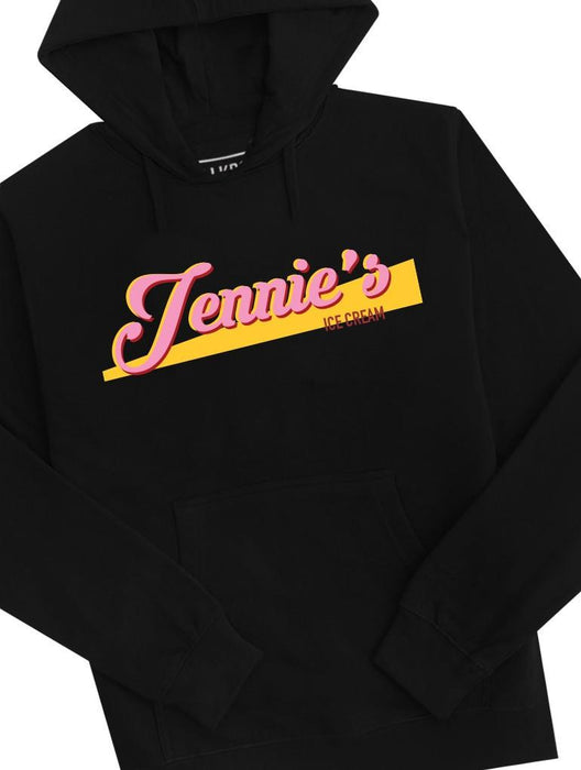 Jennie's Ice Cream Hoodie Hoodies AKP Unisex Black Small