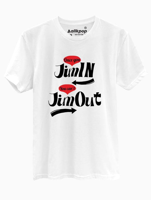 Jiminout Tee Tees AKP Male White Small