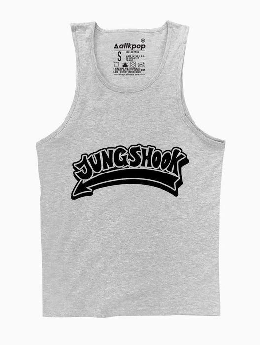 Jungshook Tank Tanks AKP Unisex Grey Small
