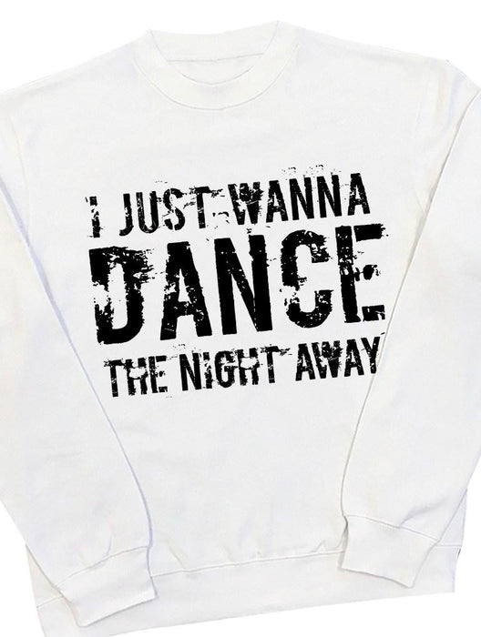 Just Dance Crew Crews AKP Unisex White Small