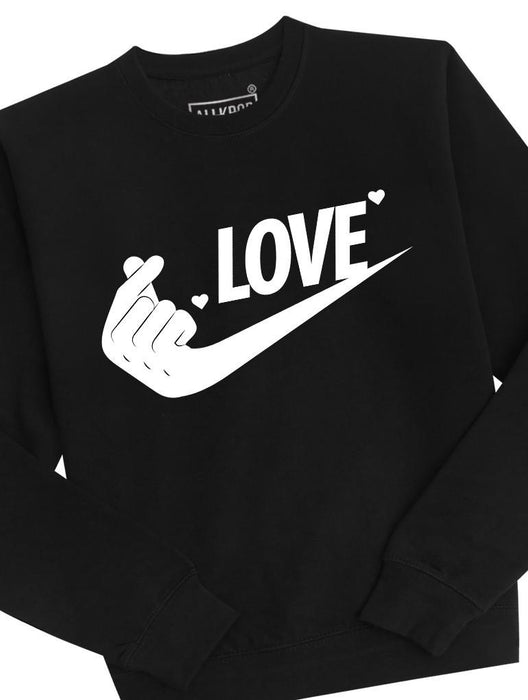 Just Love It Crew Crews AKP Unisex Black Small