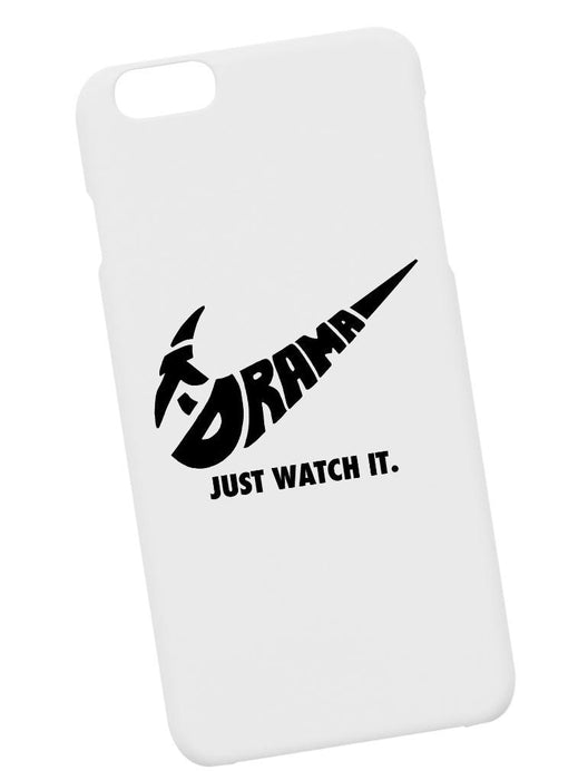 Just Watch It Case Phone Case AKP White