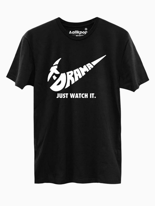 Just Watch It Tee Tees AKP Male Black Small