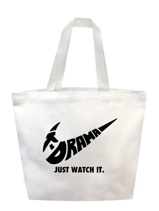 Just Watch It Tote Tote AKP White