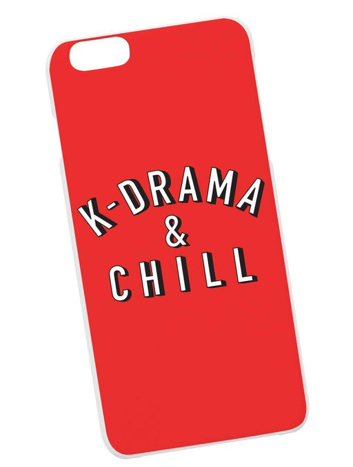 K-DRAMA & CHILL Case Phone Case AKP Red
