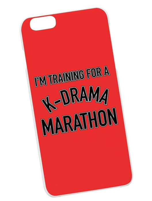 K-Drama Marathon Case Phone Case AKP Red