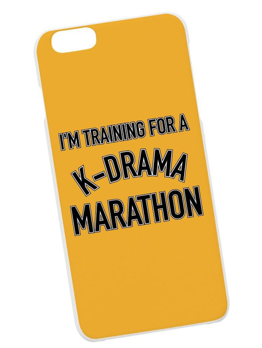 K-Drama Marathon Case Phone Case AKP Yellow