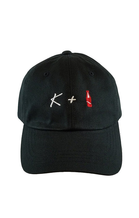 K + POP Dad Hat Dad Hat AKP Black