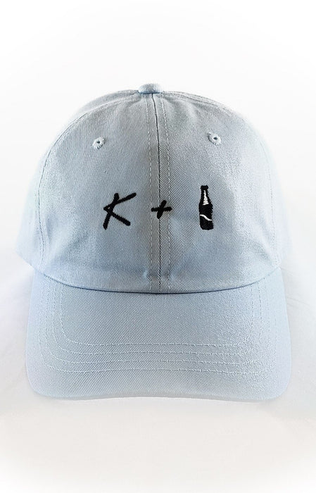 K + POP Dad Hat Dad Hat AKP Blue