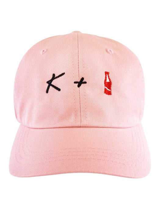K + POP Dad Hat Dad Hat AKP Pink