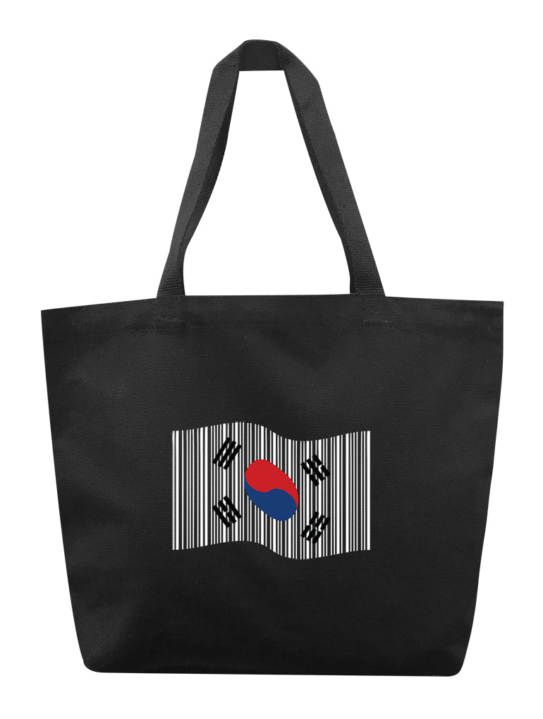 K-Flag Barcode Tote
