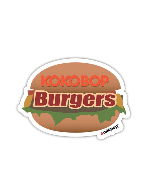 KOKOBOP Burger Sticker
