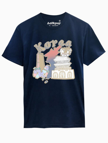 Korea Sights Tee