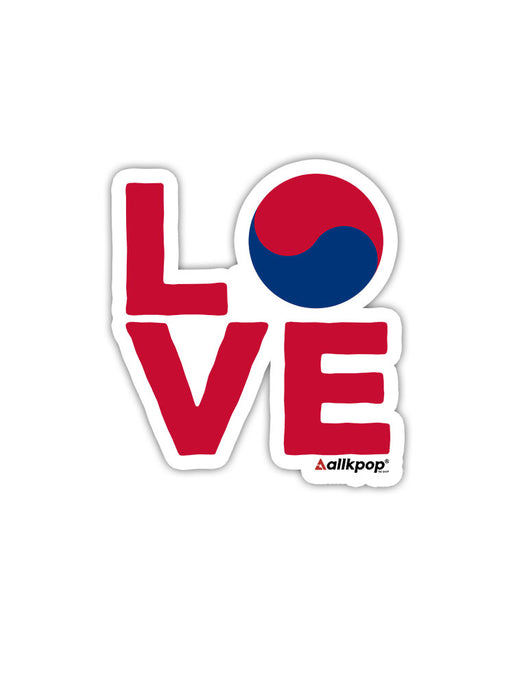 Korea Love Sticker
