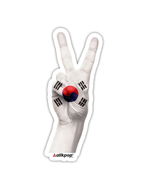Korea Peace Sticker