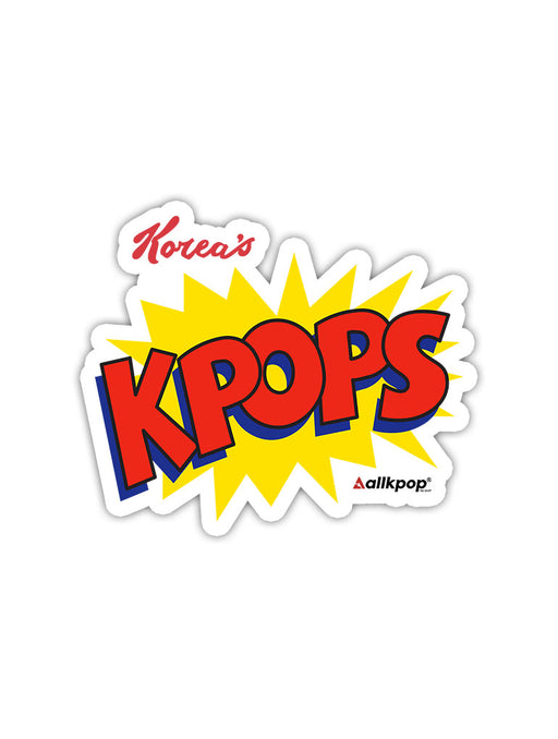 Korea's KPOPS Sticker