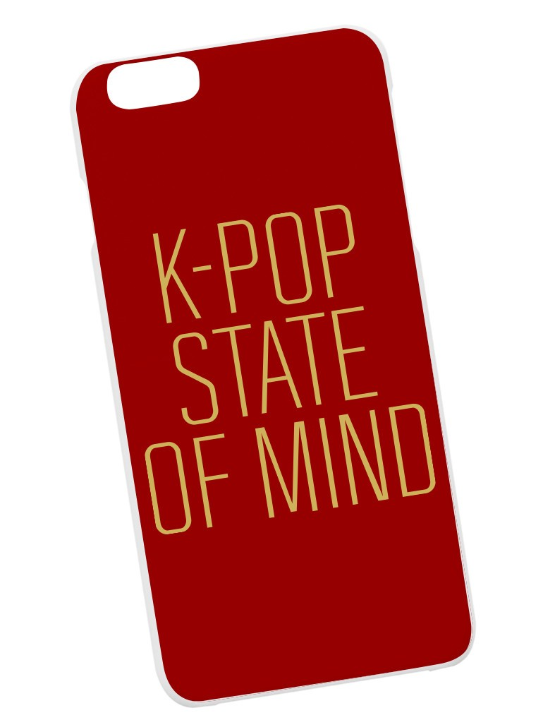 K-Pop State of Mind Case