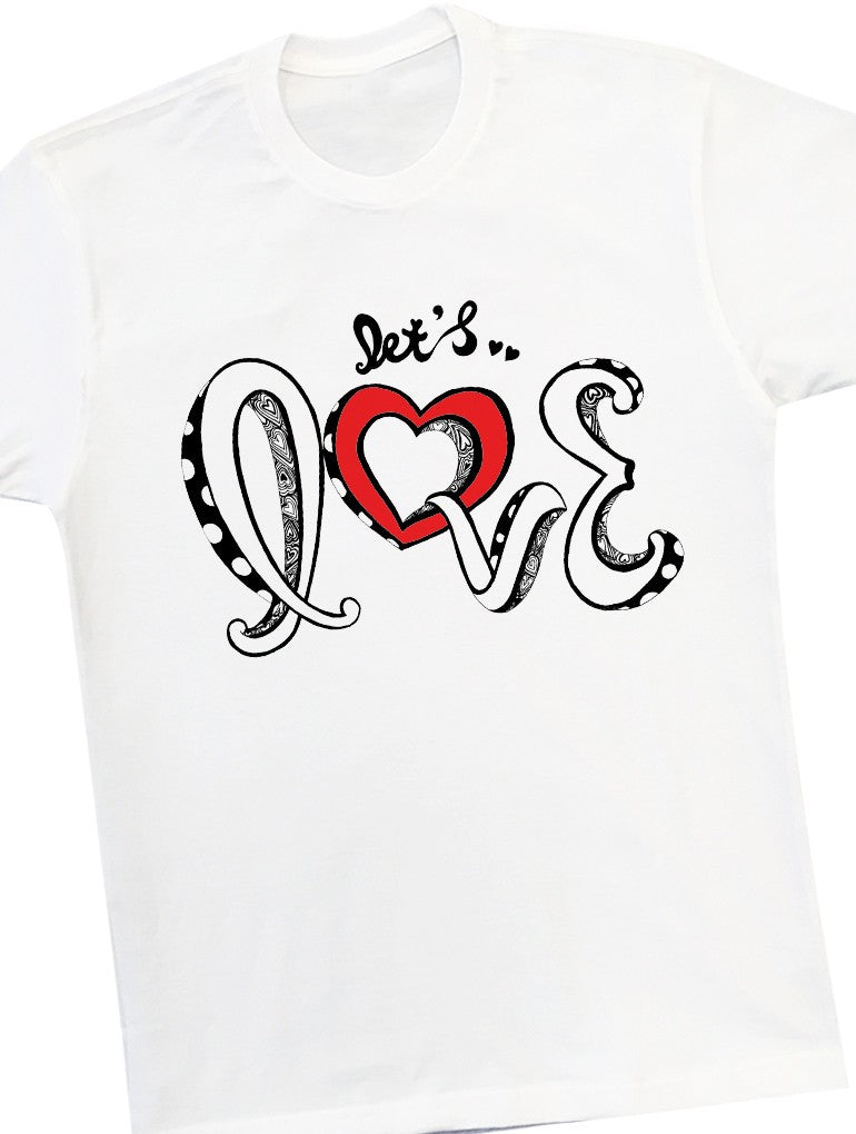 Let's Love Tee