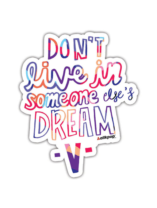 Live Dream Sticker