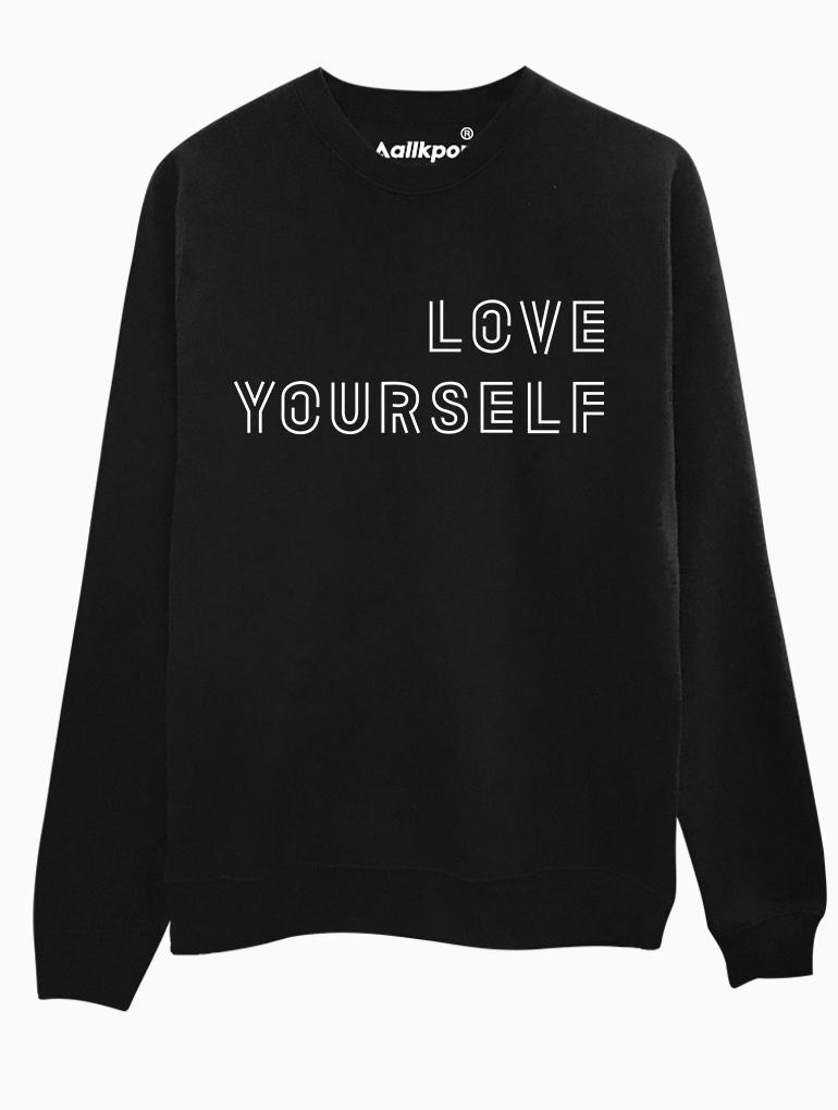 allkpop THE SHOP – Love Yourself Tee 0c49fa094