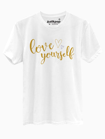 Love Yourself Calig Tee