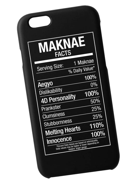 Maknae Fact Case