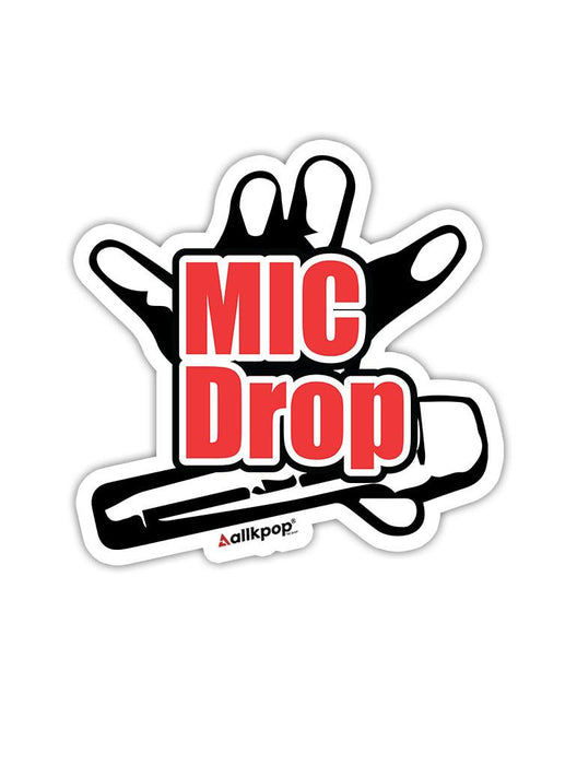 Mic Drop Sticker Stickers AKP