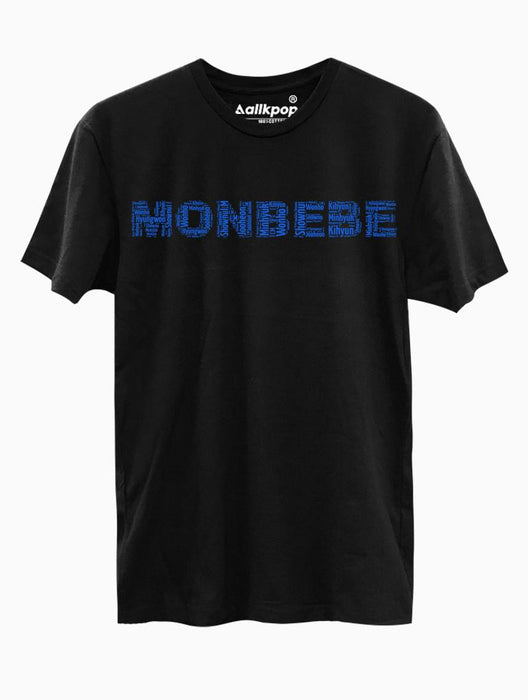 MONBEBE Name Tee Tees AKP Male Black Small