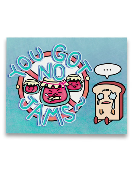 No Jams Canvas
