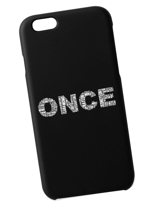 ONCE Name Case Phone Case AKP Black