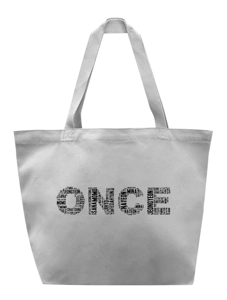 ONCE Name Tote