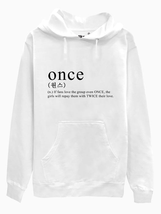 ONCE Definition Hoodie