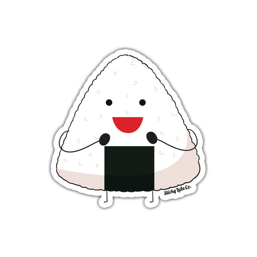 Happy Onigiri Sticker