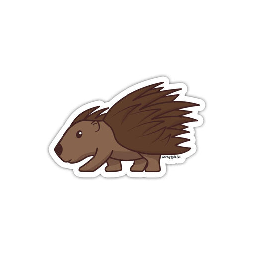 Porcupine Sticker