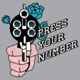 Press Your Number Hoodie