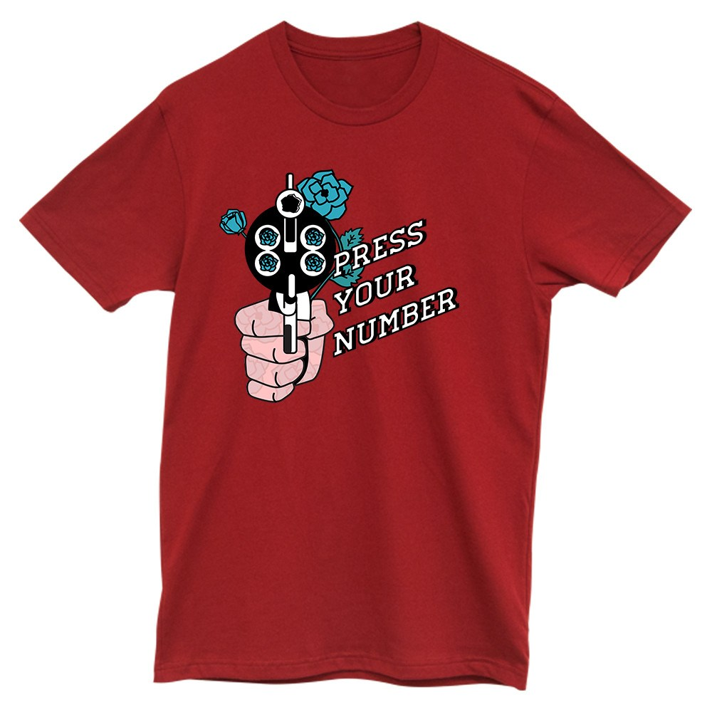Press Your Number Tee