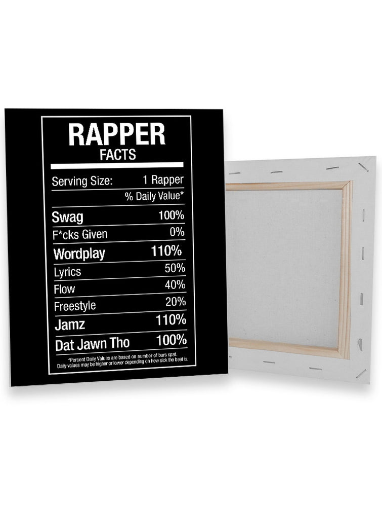 Rapper Fact Canvas