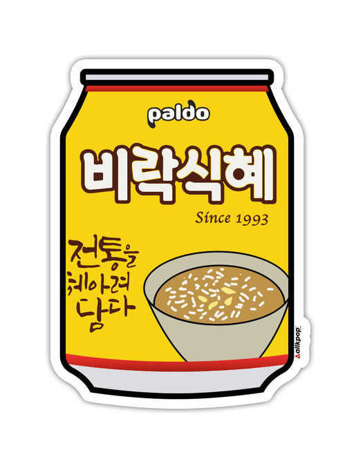 Rice Drink Sticker