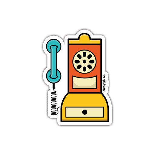 Rotary Phone Sticker