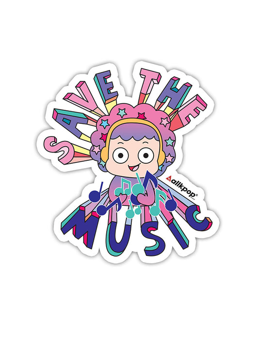 Save Music Sticker