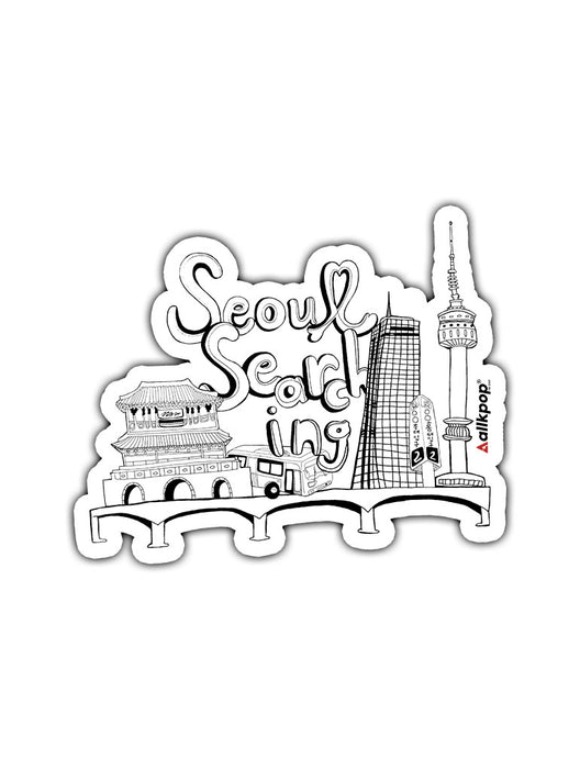 Seoul Searching Sticker